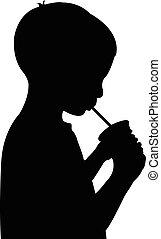 飲料水, 男の子