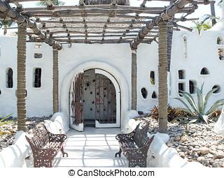 餐館, 在, acapulco 海灣