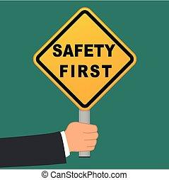 首先, 概念, 安全, 签署, 手