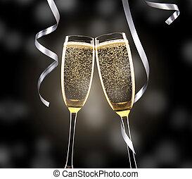 香槟酒玻璃杯