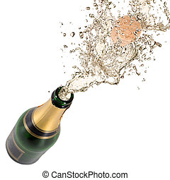 香槟酒, 爆炸