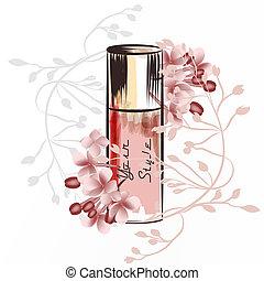 香水のビン, イラスト, ファッション