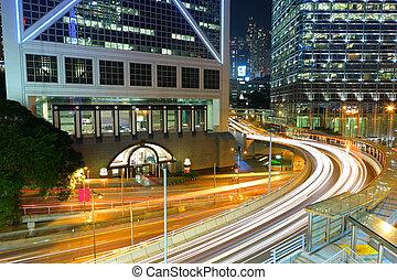 香港, 夜で