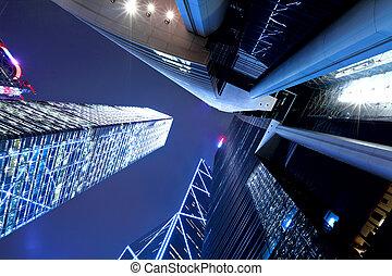 香港, 夜間, 意見從以下