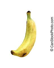 香蕉, 被隔离, 在懷特上