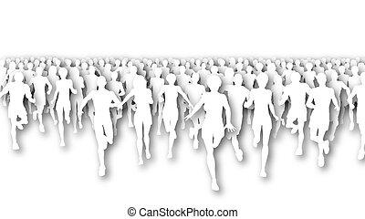 馬拉松, cutout