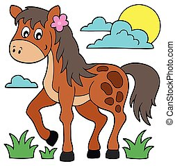 馬, 主題, 圖像, 6