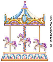 馬, 乗車, カーニバル