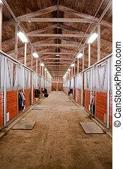 馬, 乗馬者, 牧場, 動物, 安定した, パドック, スポーツ, 競争, 納屋