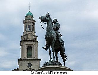 馬, 華盛頓特區, 雕像