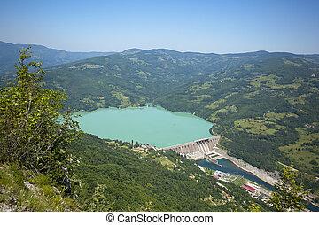 駅, ダム, 水力発電の力, perucac