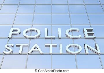 駅, 概念, 警察