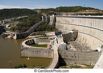 駅, 水力発電の力