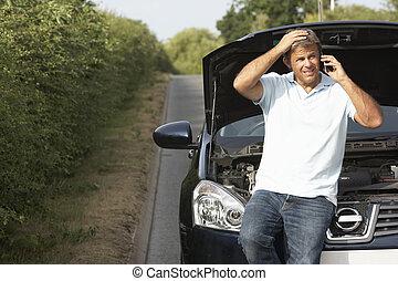 駕駛員, 失敗, 上, 國家道路
