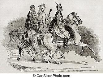騎士, エジプト人