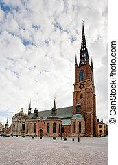 騎士, ストックホルム, スウェーデン, 教会