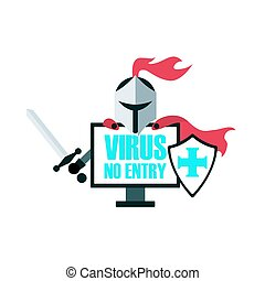 騎士, antivirus