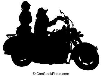 騎自行車的人, 夫婦
