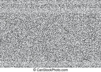 騒音, いいえ, tv, 手ざわり, シグナル, ベクトル