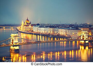 驚かせること, たそがれ, ブダペスト