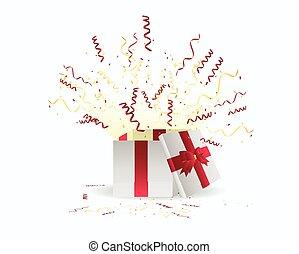 驚き, 誕生日おめでとう, 贈り物