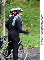骑自行车的人, 夫妇