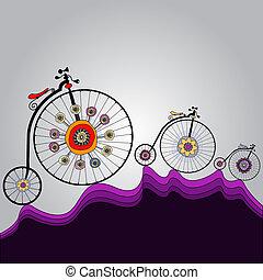 骑, 在中, 幸福, 在世界各处