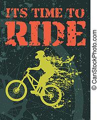 骑, 时间