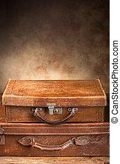 骨董品, スーツケース