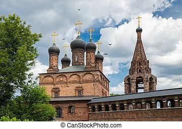 骨董品, 家父長制である, モスクワ, 中庭, 回廊, krutitsy