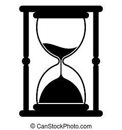 骨董品, 測定, たたきつける, 道具, 砂, 時間, 砂時計