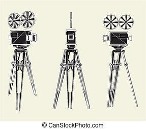 骨董品, 立ちなさい, カメラ, 映画