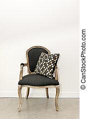 骨董品, 肘掛け椅子, 壁