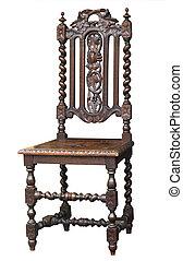 骨董品, 華やか, 椅子