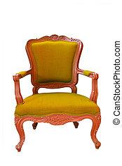 骨董品, chair.