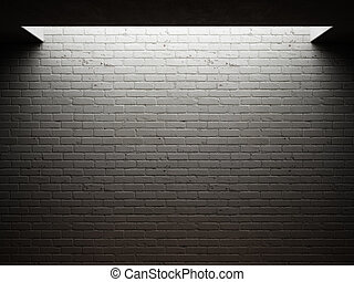 骯髒, 磚牆