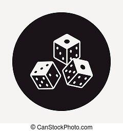 骰子, 圖象