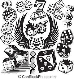 骰子, 彙整