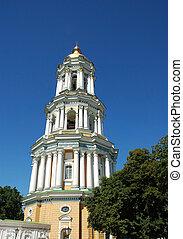 高い, タワー, コラム, 教会