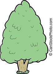 高い, 木, 漫画