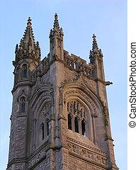 高い, tower., 教会