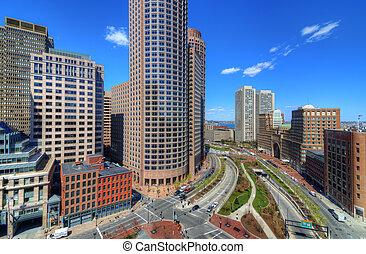 高く, ボストン, 上昇