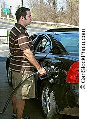 高く, 価格, ガス