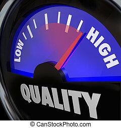 高く, 増加, 燃料計, 低い, 改良, 品質