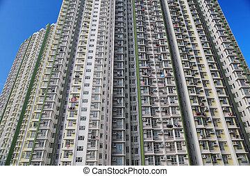高く, 暮らし, 条件, hk, 密度