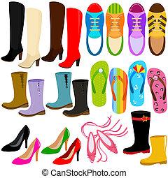 高く, (boots, sneakers), 靴, かかと