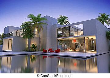 高価, 家, 現代