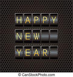 高兴的新年, 代码