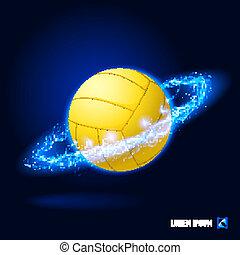 高圧, バレーボール