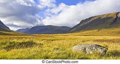高地, スコットランド, glencoe